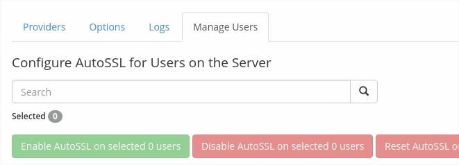 Configure Auto SSL