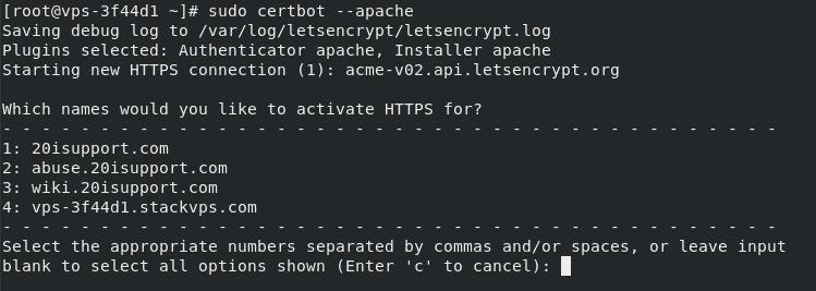Activate HTTPS