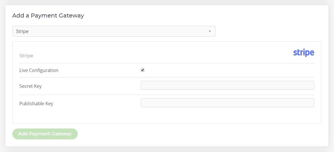 Add HostShop payment gateway