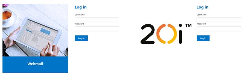 Webmail login comparison