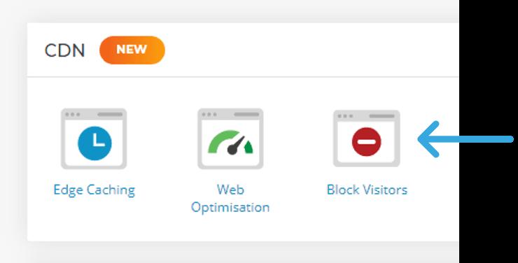 CDN Block Visitors