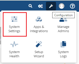 WHMCS System Settings