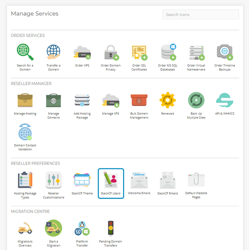 Overview of Reseller preferences