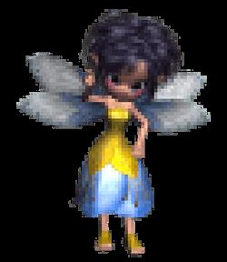 Pixellated pixie