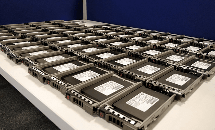 SSDs in their