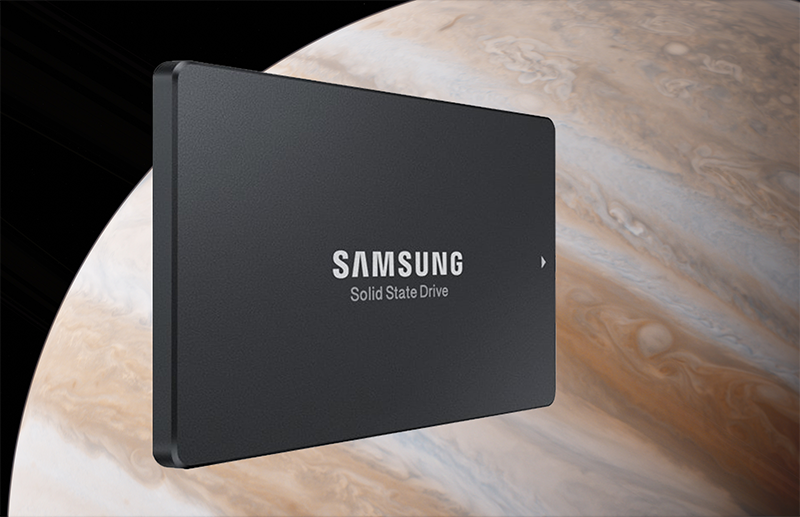 Samsung SM863 SSD over Jupiter