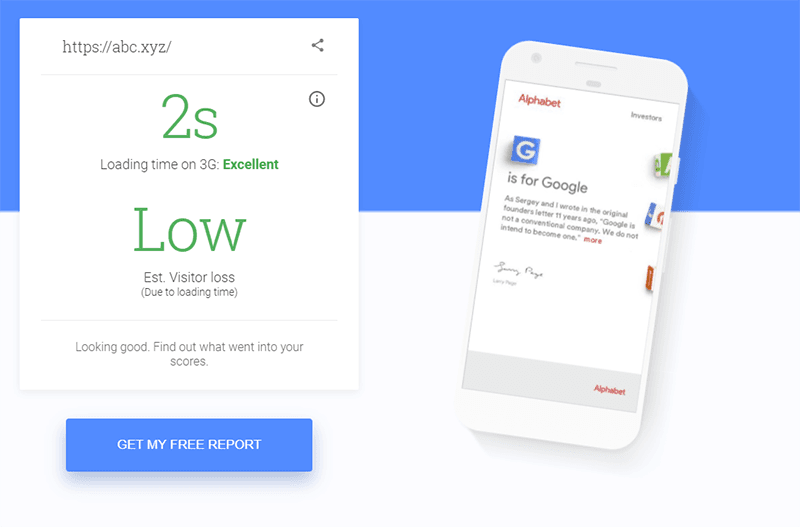 Google's Alphabet Report