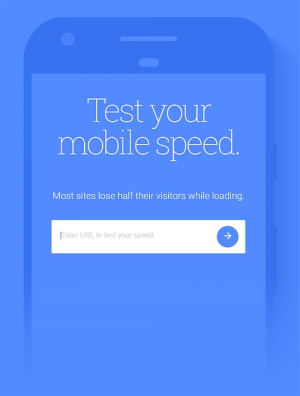 Google's Test My Site on Mobile