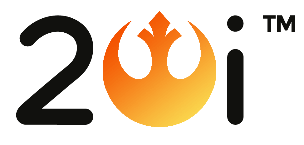 20i logo combined with Rebel Alliance and Resistance logo