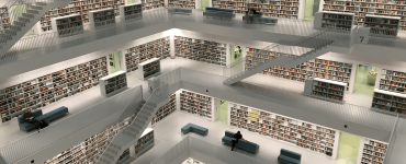 A clean library