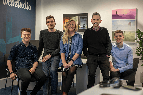Worcester Web Studio team photo