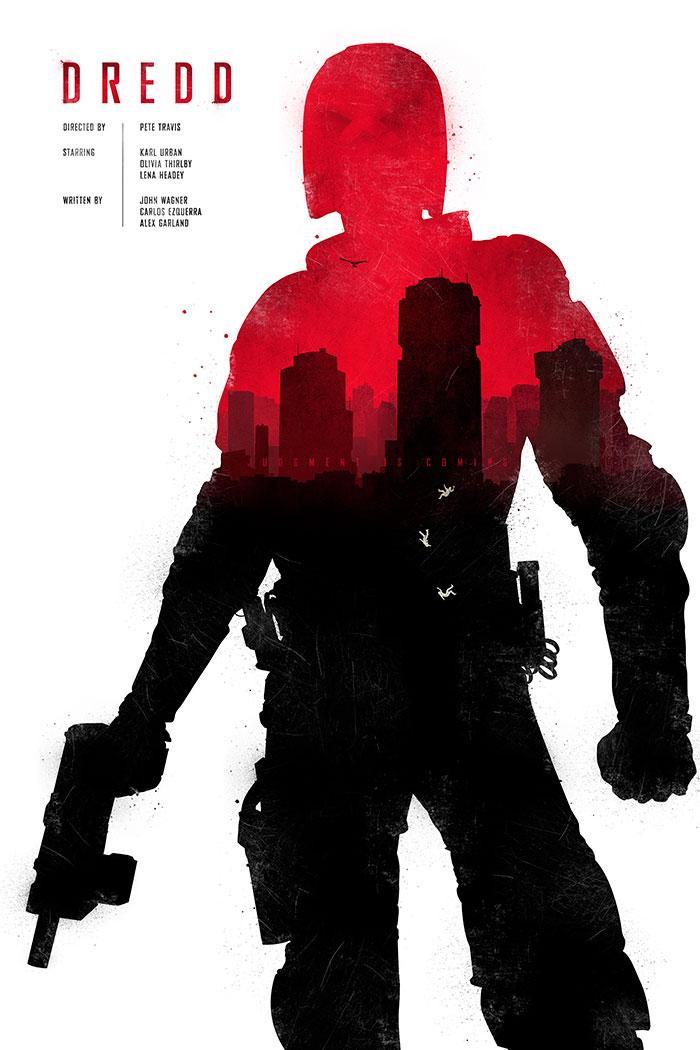 Dredd fan art poster