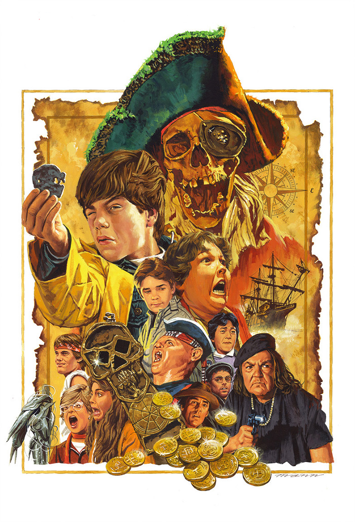 The Goonies fan art poster