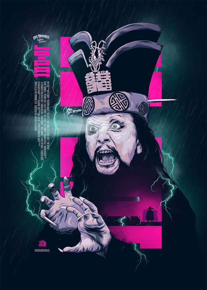 Big Trouble in Little China fan art poster
