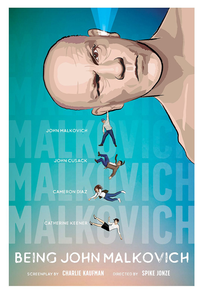 Being John Malkovich fan art poster