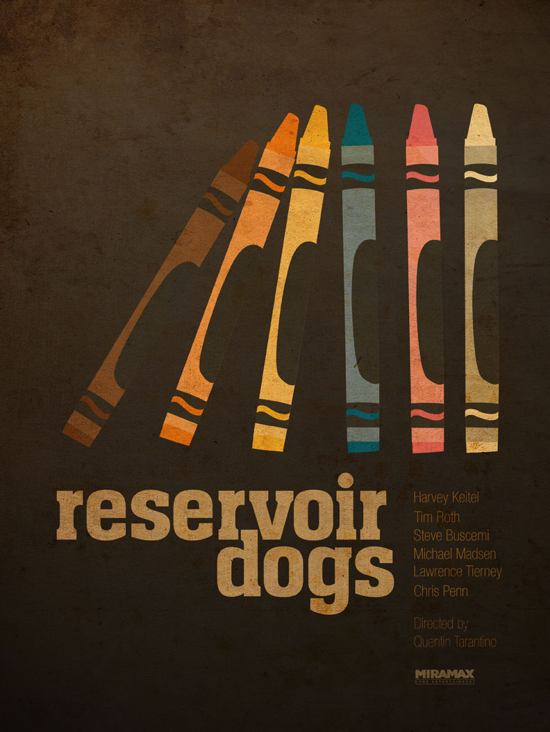 Reservoir Dogs fan art poster