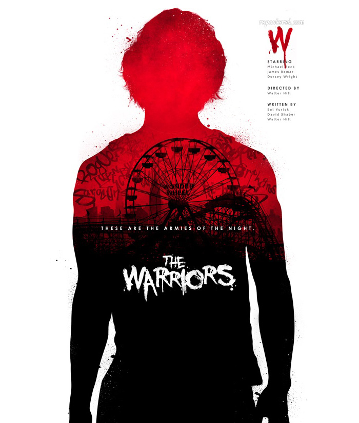 The Warriors fan art poster