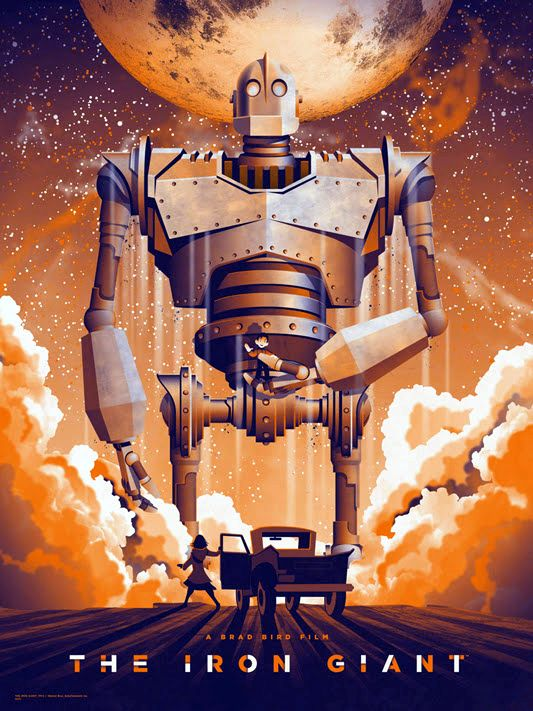 The Iron Giant fan art poster