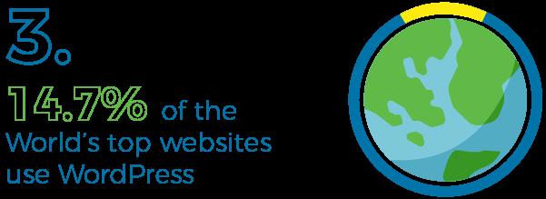 Top websites using WordPress