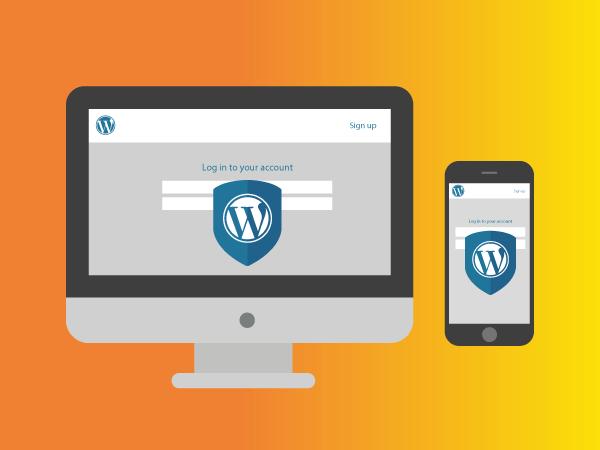 WordPress admin login pages