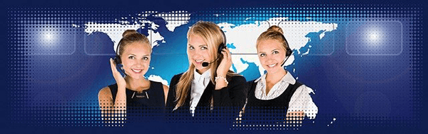Call centre salespeople