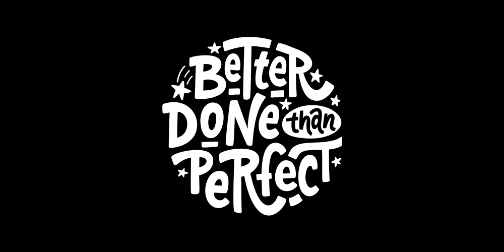 Better Done Than Perfect logo