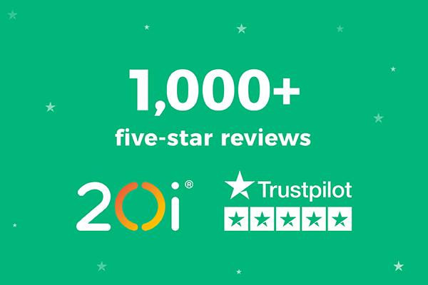 1000+ 5-star reviews