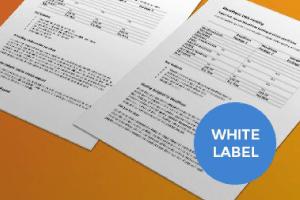 White-label marketing copy